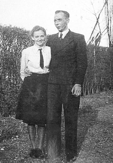 My mom & dad in 1942.