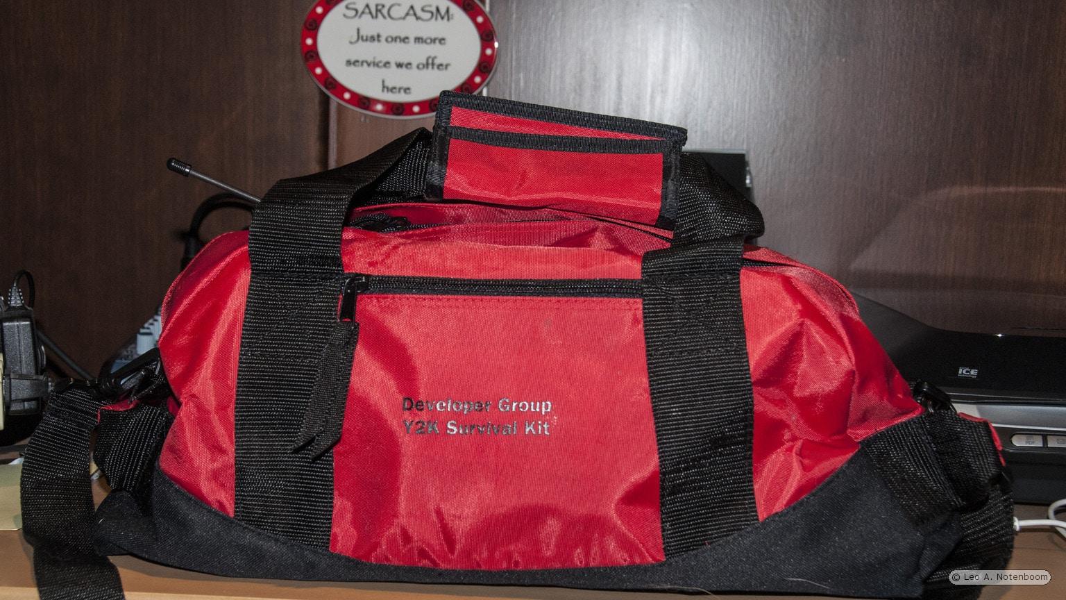 Microsoft Developer Division Y2K Kit Bag