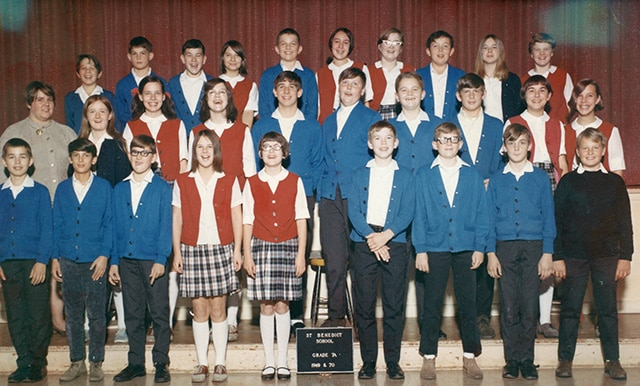 Grade 7 Class Photo