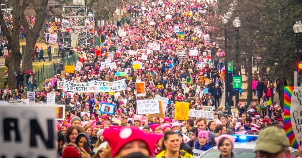 Women's March Washington, DC USA