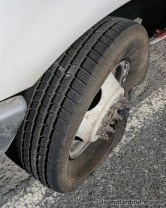 One Tire, Non-Functional