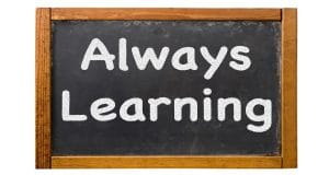 "What ""Always Learning"" Really Means"