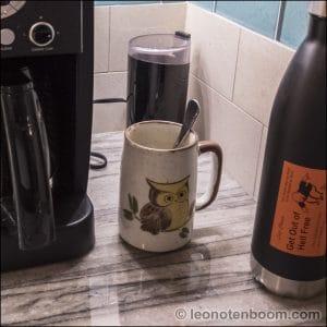 Mug In Use