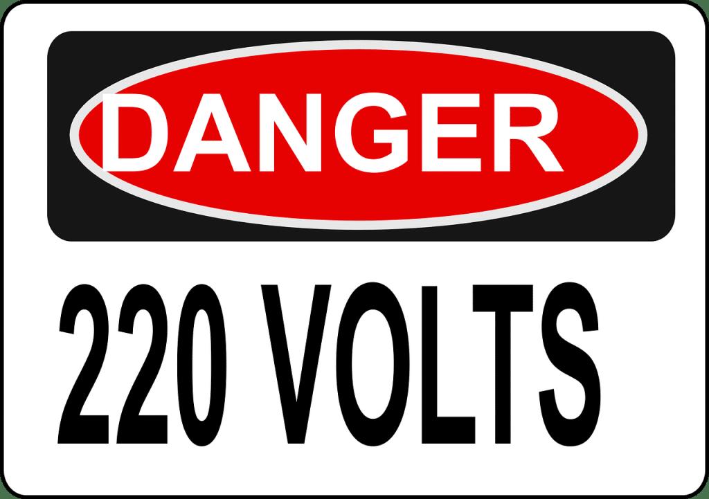 220 volts!